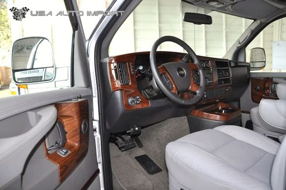 chevrolet explorer conversion van 06 l usa auto import. Black Bedroom Furniture Sets. Home Design Ideas