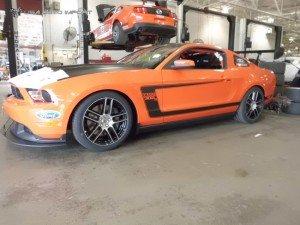 Mustang laguna seca 20 l