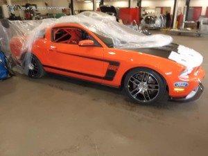 Mustang laguna seca 26 l
