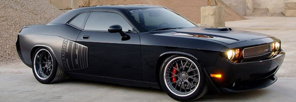 Dodge Challenger SRT8 Wide Body