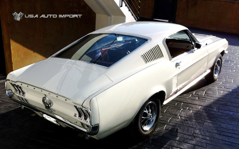 1967 ford mustang fast back gt usa auto import. Black Bedroom Furniture Sets. Home Design Ideas